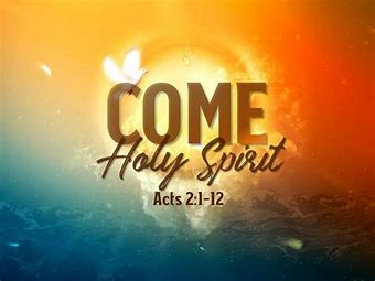 Image result for pics of come holy spirit