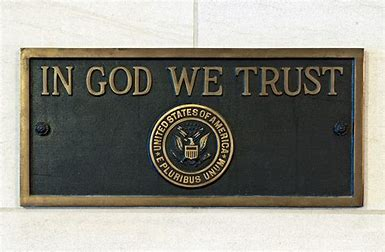 Image result for picture of in god we trust on building