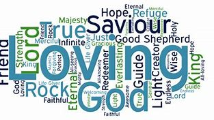 Image result for free pic of words  descibing god