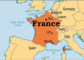 Image result for free pictures of france map